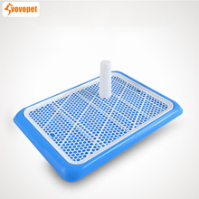 VOVOPET Pet Dog Toilet Plastic Lattice Square Cat Puppy Urinary Poop Training Tray Easy Clean Small Medium Dogs Potty