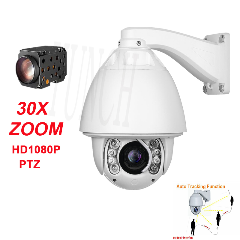HD 1080P 2MP outdoor IP security Camera CCTV 30X zoom night vision auto tracking high speed