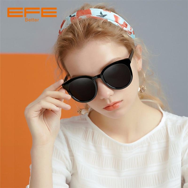 EFE Oversized Sunglasses for Women Brand Designer Vintage Sun Glasses Lightweight Frame Polarized Lens Female Eyewear Glasses in Women 39 s Sunglasses from Apparel Accessories