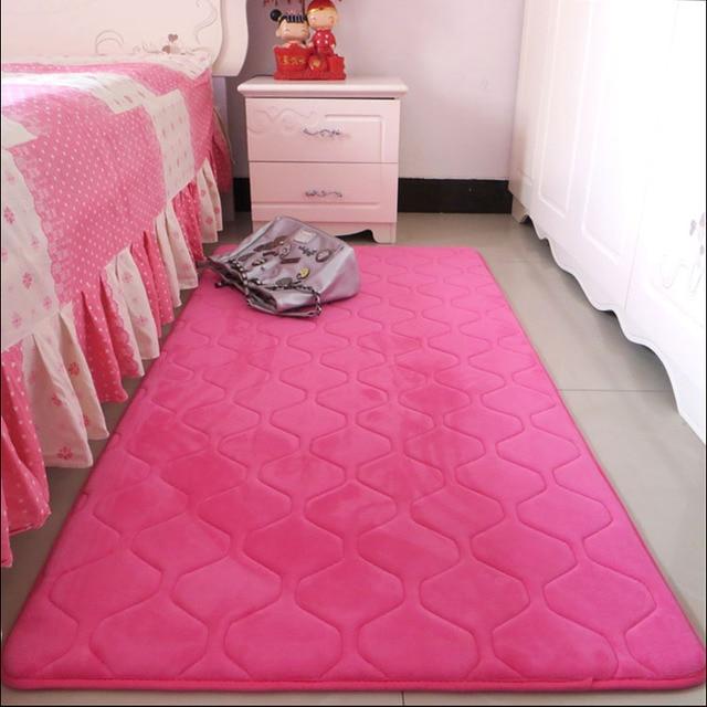 Nieuwe verdikte 2 cm carpet mat pad baby anti crash geluidsisolatie, non  slip mat slaapkamer rug woonkamer koffietafel carpet in Nieuwe verdikte 2  cm ...