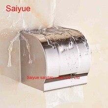 Новое поступление SUS 304 нержавеющей стали туалет бумаги туалет крышка рулон ткани стойке ванной Banheiro аксессуары