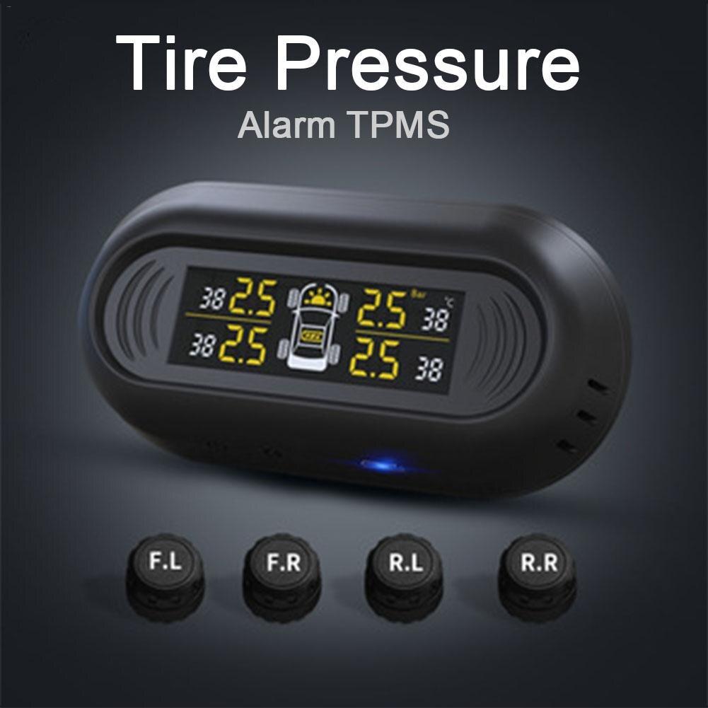 Mini Windshield Wireless Lcd Digital Gauge Car Tpms Ip67
