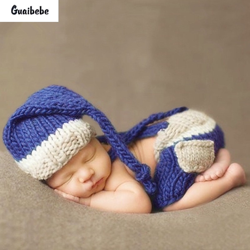 Fashion Lovely Hat And Pant Suit For Newborn Baby Boys Girls Photography Props Cute Knitting Bib Cap Set Infant Crochet Outfits newborn crochet baby costume photography props knitting baby hat bow infant baby photo props newborn baby girls cute outfits
