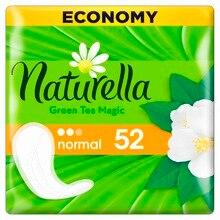 NATURELLA Женские гигиенические прокладки на каждый день Green Tea Magic Normal (с ароматом зеленого чая) Trio 52 шт