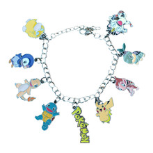 20 Pieces/Lot Kawaii Pokemon Charm Bracelet