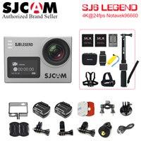 Действие Камера SJCAM sj6 Легенда 4 К WI FI 1080 P/30fps 2.0 ЖК дисплей 170 объектив 4 К спортивные Ультра HD DV 30 м Водонепроницаемый шлем CAM Поддержка 64 г