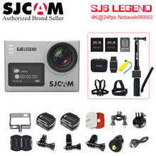 Action Camera SJCAM SJ6 LEGEND 4 K WIFI 1080P/30fps 2.0 LCD 170 lens 4K Sports Ultra HD DV 30M Waterproof Helmet Cam Support 64G