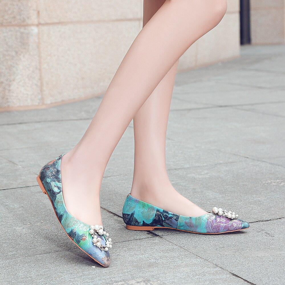 A primavera eo Outono Novos Produtos Sapatos Coreano Dos Homens Oxford Sapatos De Couro Ocasionais dos homens de Cabeça Redonda de Ouro Bordado de Namoro sapatos - 5
