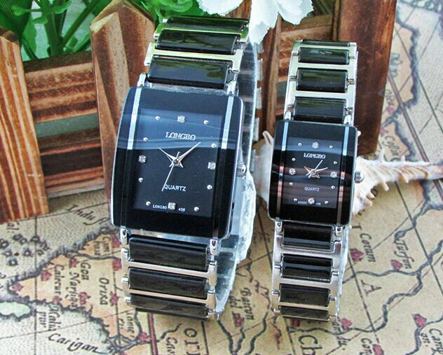 Longbo Watch Women Famous Watches Men 2016 Top Brand Luxury Wristwatch Male Female Clock Quartz Wrist Watch Ceramic Quartz Watch