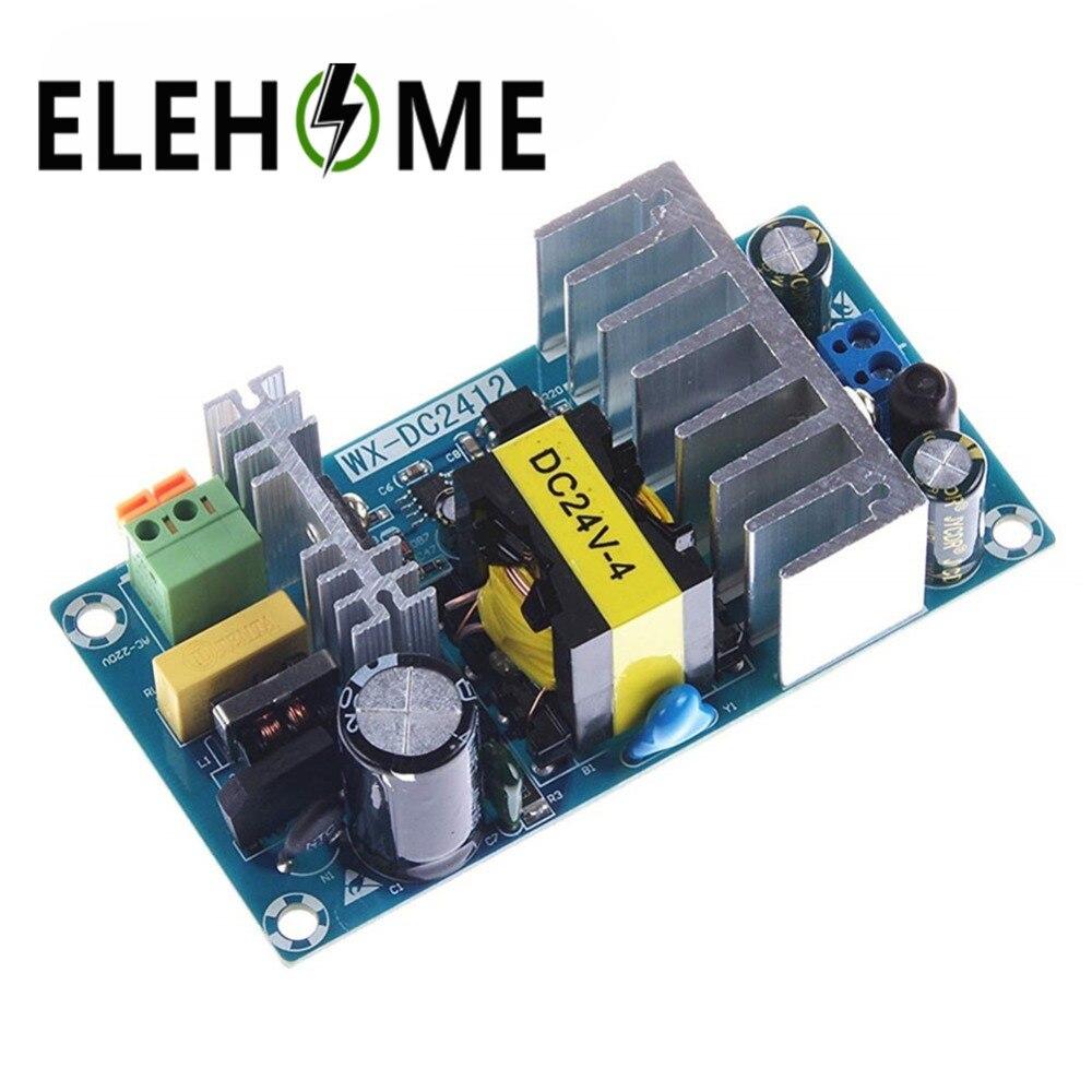 Módulo de fuente de alimentación AC 110 v 220 v a DC 24 V 6A AC-DC de conmutación fuente de alimentación WX-DC2412 ACDC módulo de potencia de suministro de energía XF30