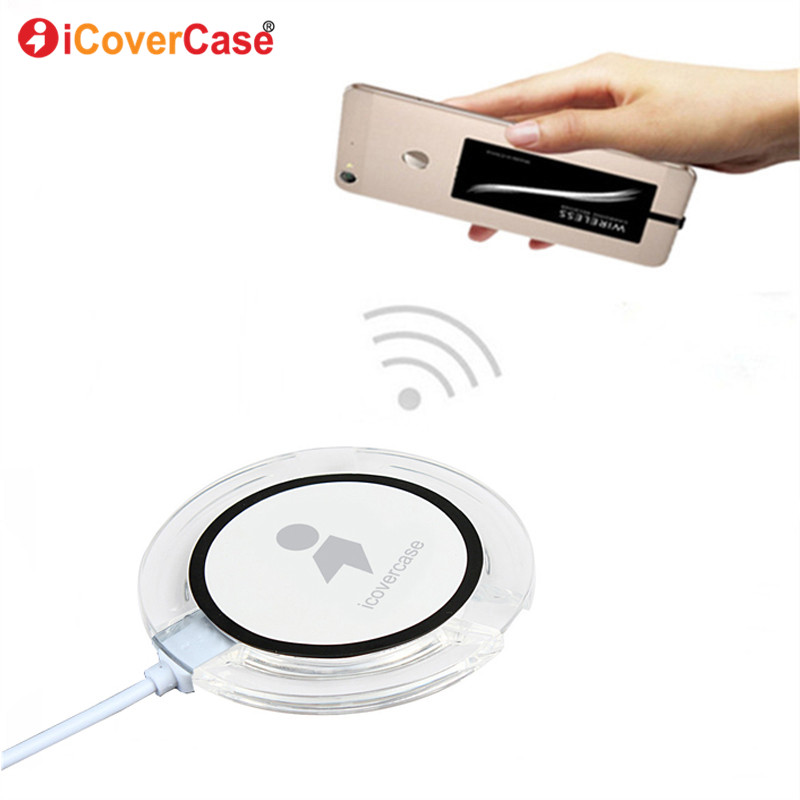Qi Wireless Charger Power Pad For Huawei P20 Lite P 20 Pro Power Bank Wireless Charging Receiver and Cover Case Hoesje Funda Bag