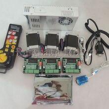 Mach3 USB CNC Router Kit 3 Axis, 3pcs stepper motor driver +