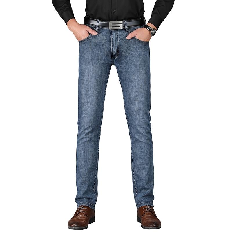 100% Vero Sulee Di Marca 2019 Degli Uomini Del Cotone Dritto Classico Dei Jeans Di Autunno Della Molla Di Sesso Maschile Pantaloni In Denim Tute E Salopette Jeans Degli Uomini Del Progettista