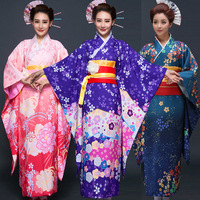 New Party Cosplay Cotume Japanese Kimono Women Yukata Japanese Traditional Kimonos Female Bathrobe Japanese Cartoon Cosplay 16