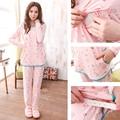 De maternidad de enfermería pijamas de cuidado de lactancia materna ropa de maternidad ropa de dormir ropa para mujeres embarazadas
