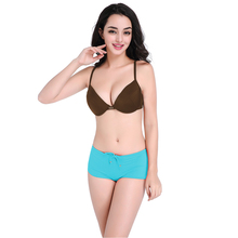 2018 new HOT sale Europe and America bikini chest steel support split thin swimsuit female small gathered sexy beach spa