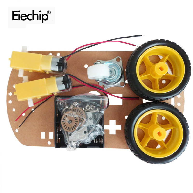 Motor Fixed Frame For Arduino Motor Smart Robot Car Chassis Kit Speed Encoder Battery Box 2wd 4wd Active Components Electronic Components & Supplies