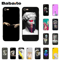 Babaite Vintage Plaster Statue David Art Printing Phone Case for iphone 11 Pro 11Pro Max 8 7 6 6S Plus X XS MAX 5 5S SE XR