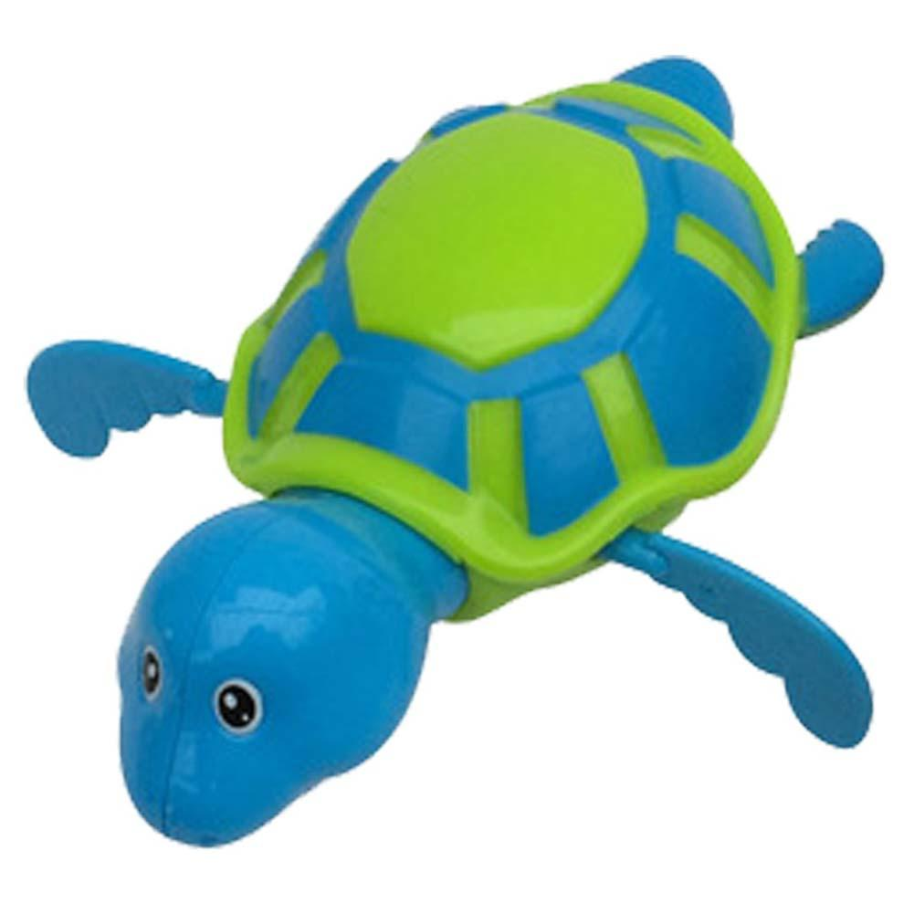 Wind-up Turtle Swimming Pool Bath Time Animal Clockwork Floating Kids Baby Toy
