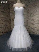 Harga murah ! Kualitas baik ! Bebas biaya kirim ! 2015 New Arrival Mermaid Sayang Putih / Gading Wedding Dresses FS1136