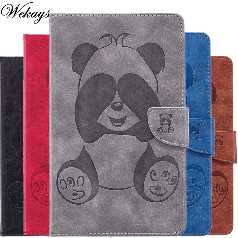 Wekays Kindle Paperwhite 1/2/3 Cartoon Panda Leather Fundas Case For Amazon Kindle Paperwhite 1 2 3 6.0 inch Tablet Cover Cases