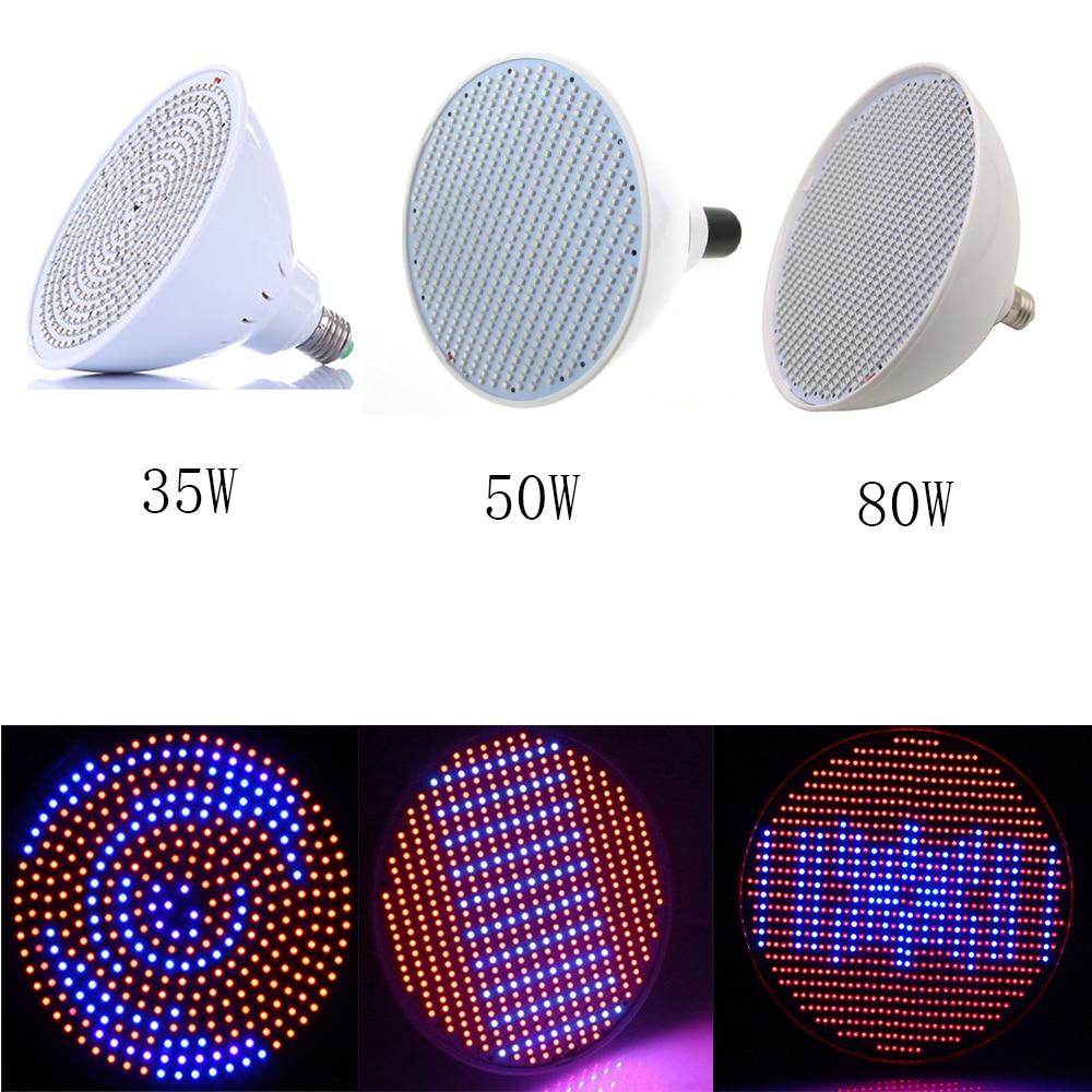 352/500/800 SMD LED Grow Light 85-265V Full Spectrum E27 Plantas - Iluminación profesional