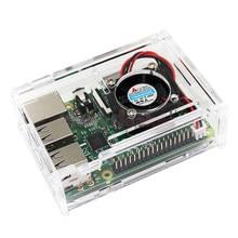Neue Pi Box ABS Kunststoff Klarer fall für Raspberry Pi 3 & modell b plus & Raspberry Pi 3