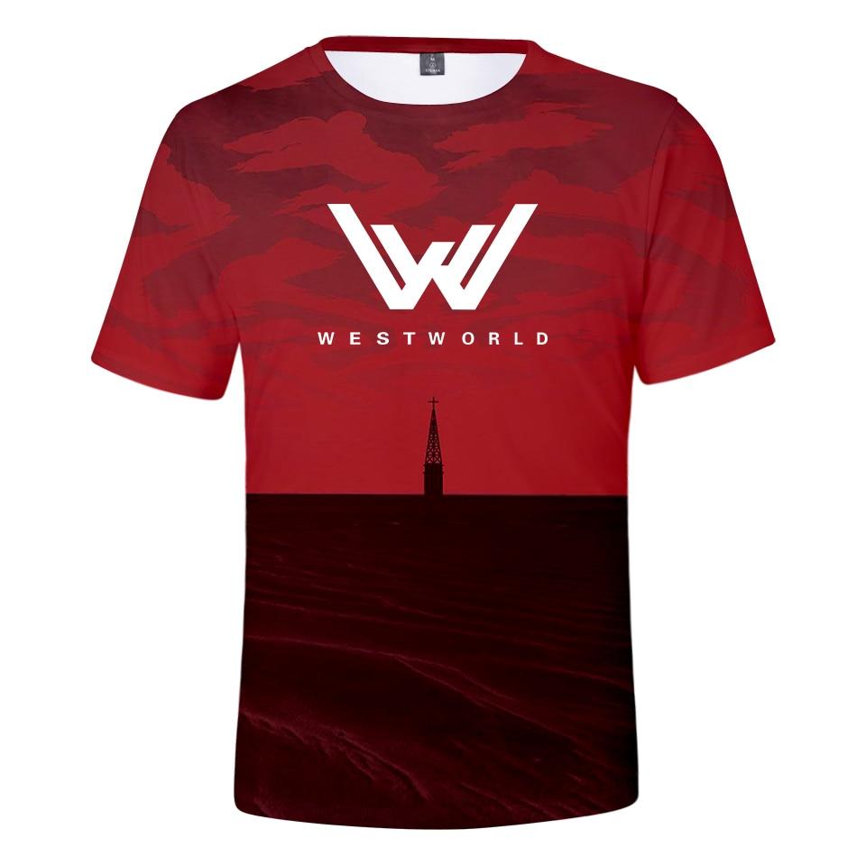 Women/Man T-shirt 3D Westworld Summer Style T Shirt High Quality Leisure Fashion Comfortable Tee Shirt Unisex Plus Size