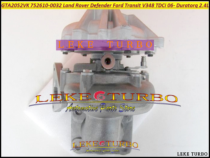 Free Ship GT2052V 752610 752610-0009 752610-0015 Turbo For Ford Transit VI For Land Rover Defender 2006- DuraTorq V348 2.4L TDCi  цены