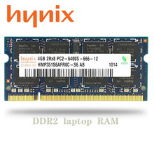 Hynix chipset nb 1gb 2gb 4gb, pc3 ddr2 667mhz 800 mhz 5300s 6400s laptop memória ram notebook SO-DIMM 1g 2g 4g 667 800 mhz