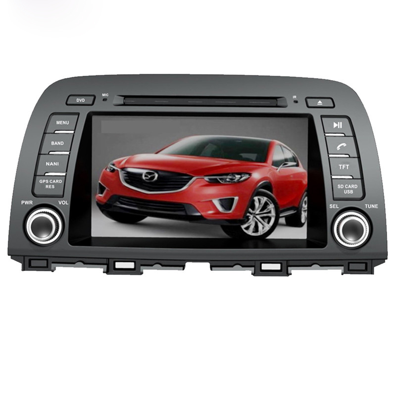 Ectwodvd Wince 6.0 Car Multimedia Player For Mazda CX-5 2012 2015 2016 for Mazda 6 for Atenza 2015 2016 DVD