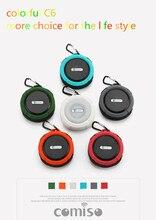 Mini bluetooth haut-parleur étanche portable sans fil Haut-parleurs C6 extérieure/intérieure de mode portable haut-parleur mains libres lecteur de musique