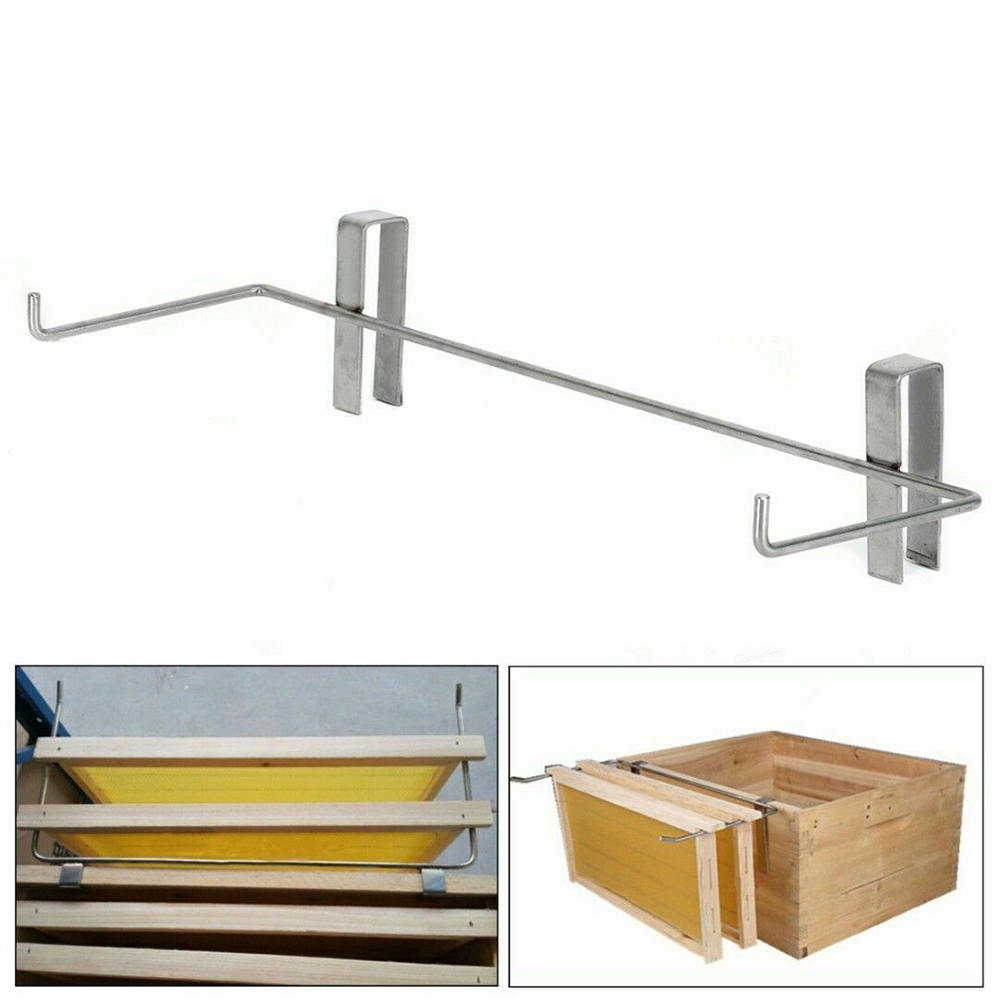 1pcs Stainless Steel Beekeeping Frame Holder Bee Hive Perch No Rust Tool New1pcs Stainless Steel Beekeeping Frame Holder Bee Hive Perch No Rust Tool New
