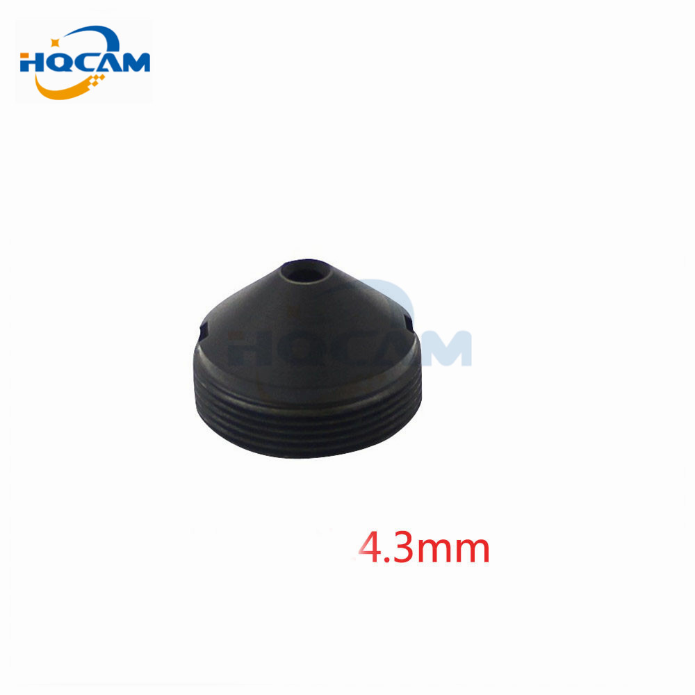 HQCAM 4.3mm lens Mount M12x0.5 CCTV Camera Factory direct infrared surveillance camera pinhole lens 4.3mm M12 thread CCTV lens pu aimetis factory direct surveillance infrared camera pinhole lens 10mm m12 thread cctv lens
