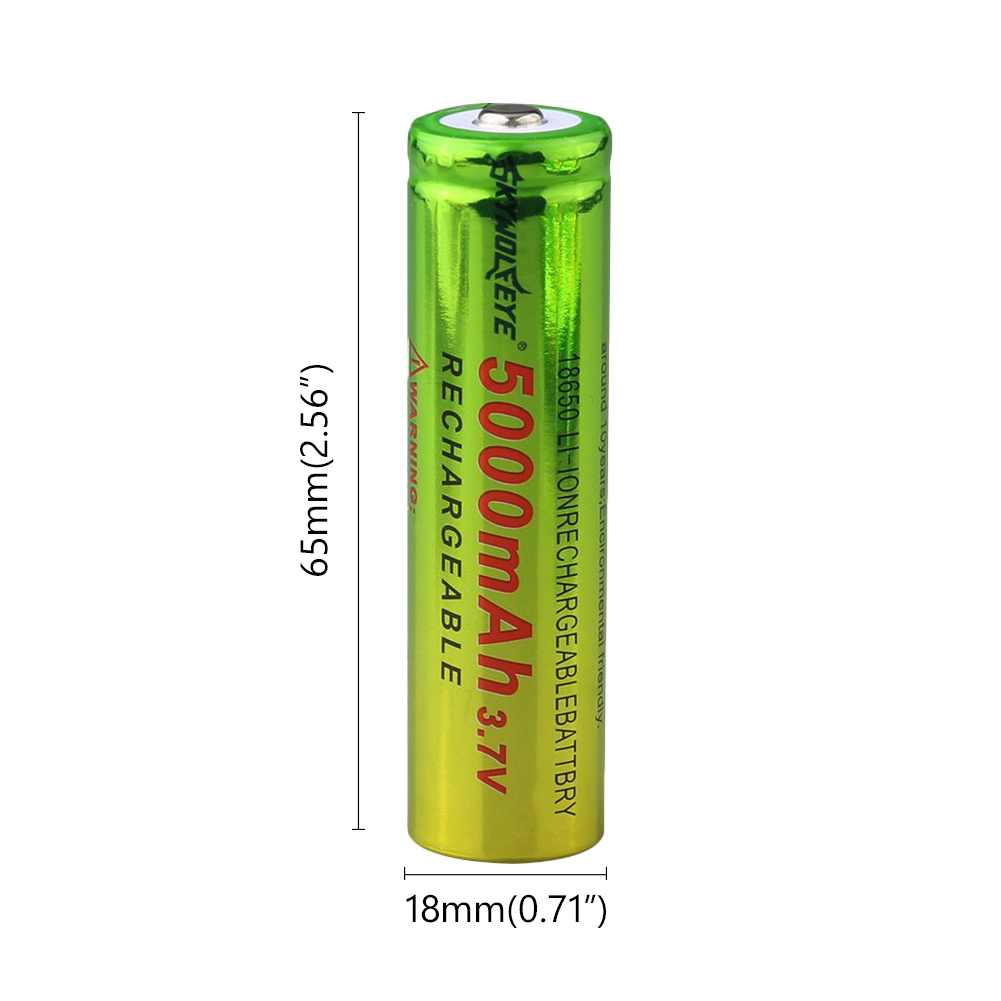 POSTHUMAN 18650 LI ION For Flashlight Mini Fan Gamepad Headlamp Toy Flashlight Battery Rechargeable BATTERY 3 7V 5000MAH CELL in Replacement Batteries from Consumer Electronics