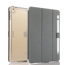 Valkit Case for iPad Pro 10.5, Protective Shockproof Impact Stand Function Smart Leather Cover with Apple Pencial Holder