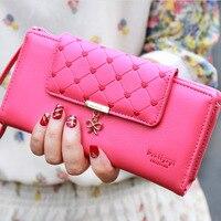 Популярный женский кошелек с сердечком, нежный женский кошелек, новый дизайн, женский клатч, разноцветные карточки, держатель, кошелек для м...
