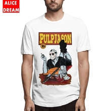 Jason Pulp Fiction T-shirt Friday The 13th T shirt For Male Quality Camiseta Organic Cotton Big Size Homme Shirt