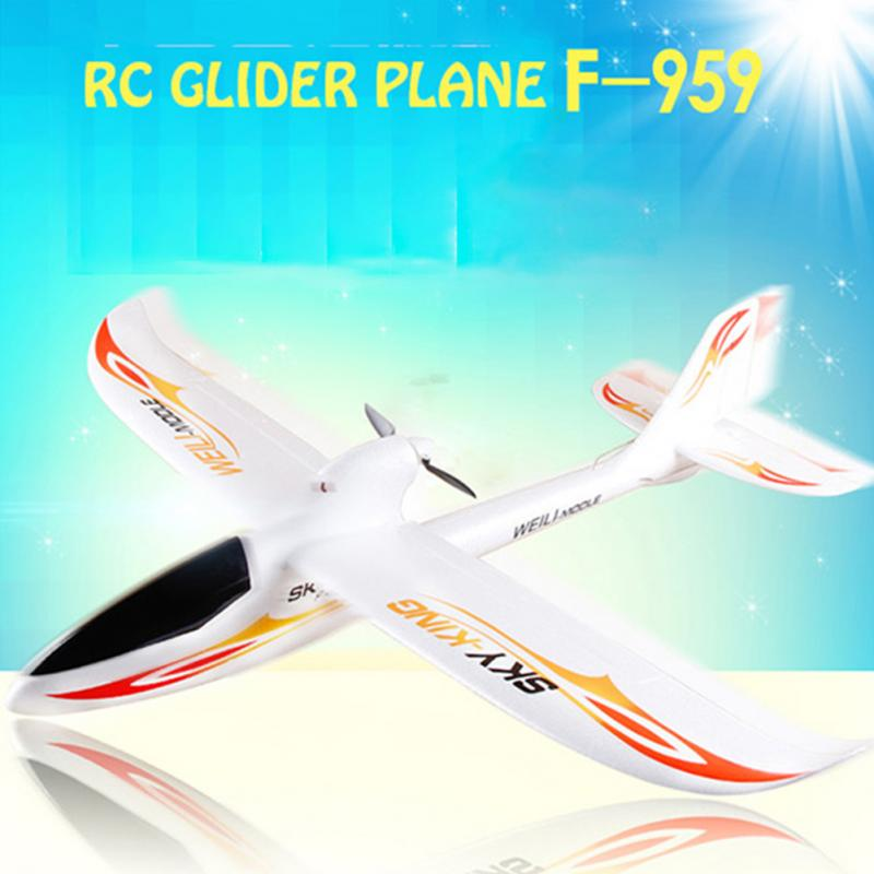 New F959 2.4GHZ 3CH Remote Control RC Airplane Sky King Aircraft-RTF EPO FPV RC Airplane