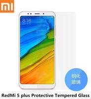 Original Xiaomi Redmi 5 Plus Full Cover Tempered Glass Screen Protectors Redmi 5plus Smartphone Phone Screen