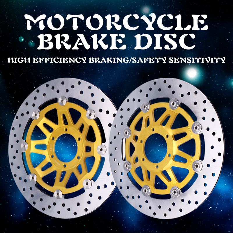 Front Brake Disc Plate Brake Disks For Honda CB400 92 98 1992 1993 1994 1995 1996