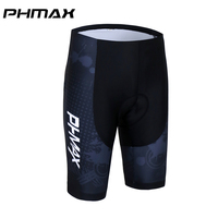 PHMAX 100% Lycra Breathable Cycling Quick Dry With 3D Anti Slip Gel Coolmax Pad Mountian Bike Wear Racing Bicycle Shorts 2017