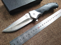 2016 New Tactical Folding Knife Camping Hunting Survival Gift Pocket Knife Cold Steel 8cr18mov Blade G10