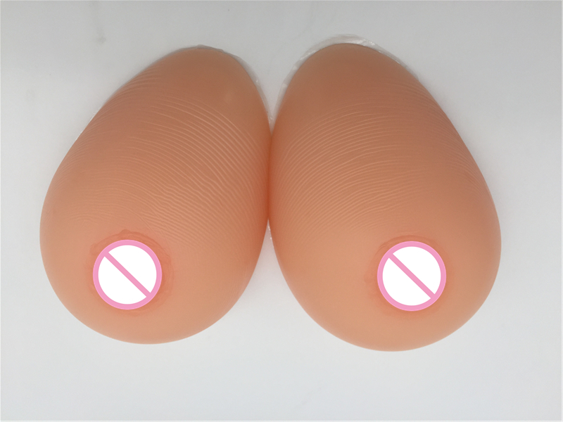 Breast Cancer Teardrop Silicone Breast Forms Artificial Boobs 1000g/Pair D Cup For Crossdresser Drag Queen Shemale Transgender 1200g dd cup boobs for drag shemale transgender prosthetic breasts cups for dresses silicone fake breast