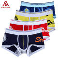 A ARCITON 4PCS Best Selling Wholesale/Retail Mens Underwear Boxers Cotton Cueca Boxer Men Print Boxer Shorts(N-084)