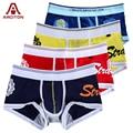 A ARCITON 4PCS Best Selling Wholesale/Retail Mens Underwear Boxers Cotton Cueca Boxer Men Print Boxer Shorts(N-084)