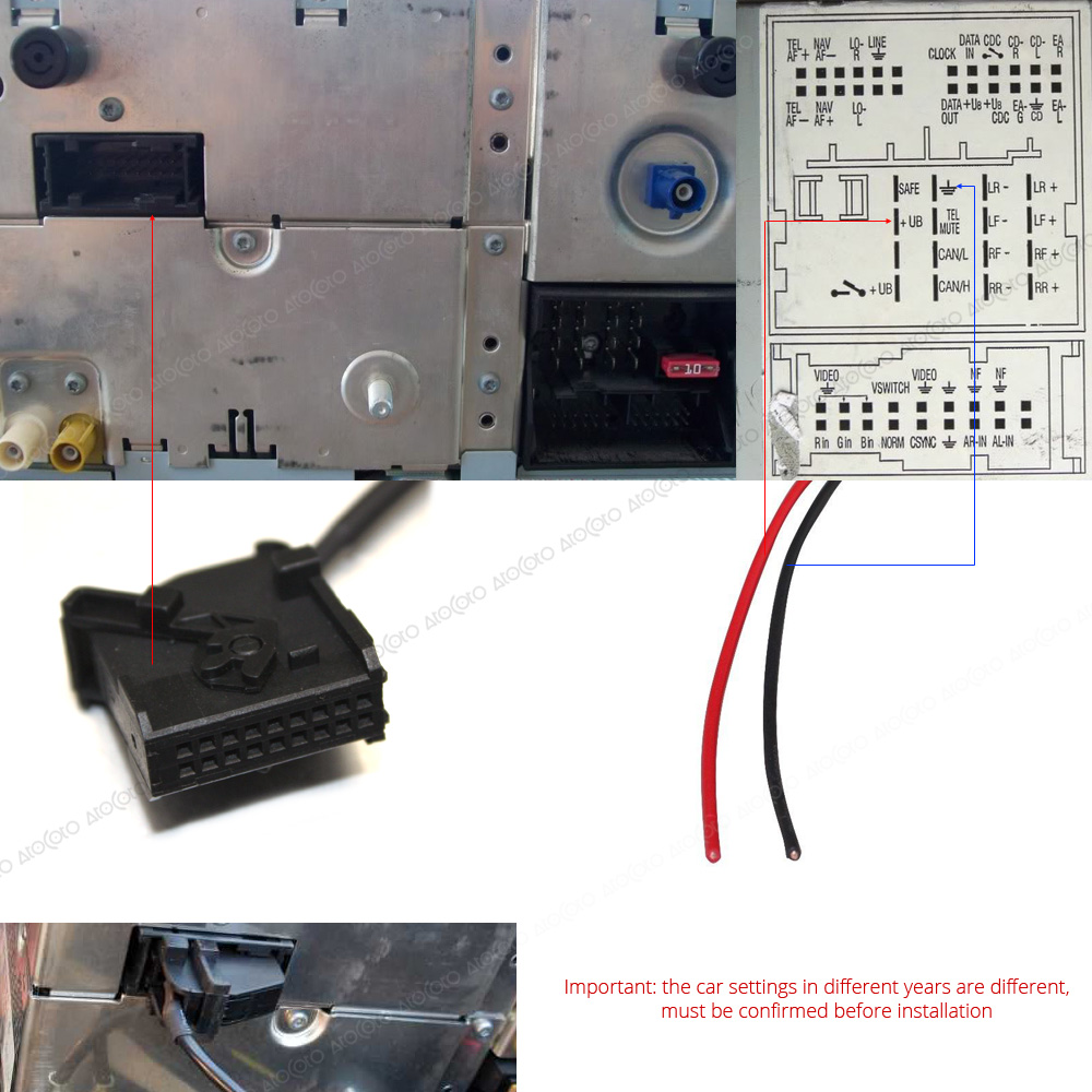 US $20.86 32% OFF Car Bluetooth Module for VW MFD2 RNS RNS2 Radio Stereo on