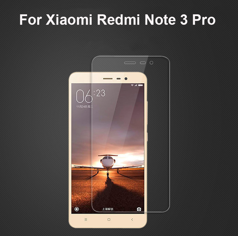 Gift 2PC Screen Protector Glass Xiaomi Redmi Note 3 Pro Tempered For Film [