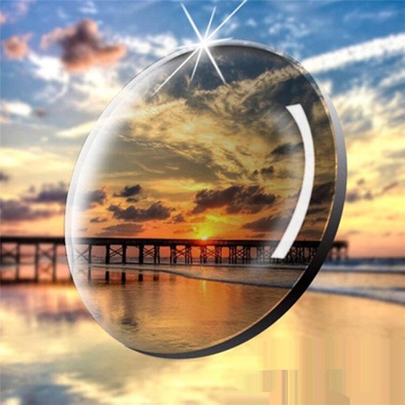 MUZZ 1.60 Index lentille photochromique Prescription myopie presbytie lunettes de vue lentille Anti-rayonnement résine lentille 2 PC