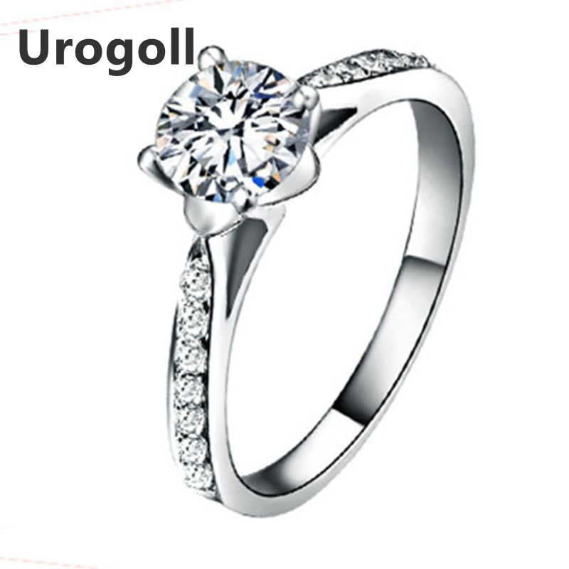 Brand New Classic 925 Sterling Silver Rings For Women Luxury Engagement Wedding Rings AAA Zirconia Ring Fine Jewelry